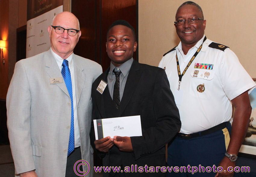 1st Place – Cadet/CPL Darius Smith - Miami Norland Senior High School